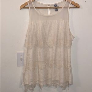Lacey tank